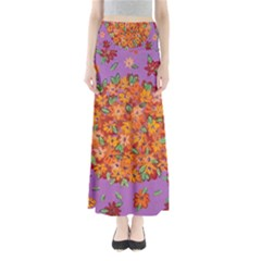 Floral Sphere Maxi Skirts by dawnsiegler