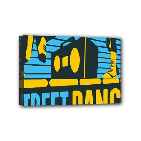 Street Dance R&b Music Mini Canvas 6  X 4  by Mariart