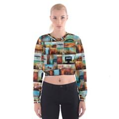 Australiana Maximum Cropped Sweatshirt by stevendix