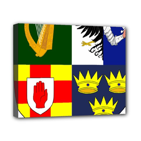 Arms Of Four Provinces Of Ireland  Canvas 10  X 8  by abbeyz71