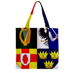 Arms Of Four Provinces Of Ireland  Zipper Grocery Tote Bag by abbeyz71