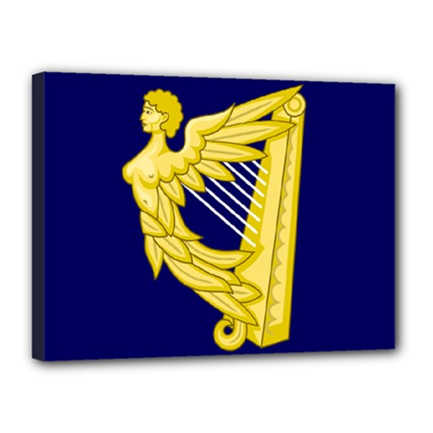 Royal Standard Of Ireland (1542 1801) Canvas 16  X 12  by abbeyz71