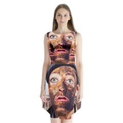 Shitfaced Sleeveless Chiffon Dress   by RakeClag