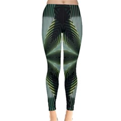 Lines Abstract Background Leggings  by Vayuart