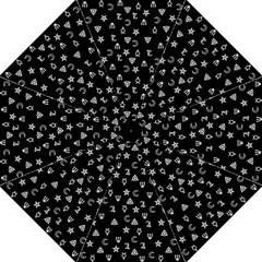 Witchcraft Symbols  Hook Handle Umbrellas (medium) by Valentinaart
