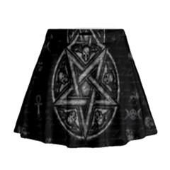 Witchcraft Symbols  Mini Flare Skirt by Valentinaart