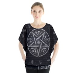 Witchcraft Symbols  Blouse by Valentinaart
