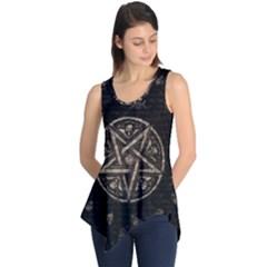Witchcraft Symbols  Sleeveless Tunic by Valentinaart