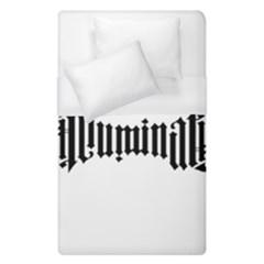 Illuminati Duvet Cover (single Size) by Valentinaart