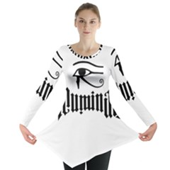 Illuminati Long Sleeve Tunic  by Valentinaart