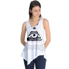 Illuminati Sleeveless Tunic by Valentinaart