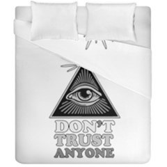 Illuminati Duvet Cover Double Side (california King Size) by Valentinaart