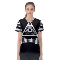 Illuminati Women s Sport Mesh Tee by Valentinaart