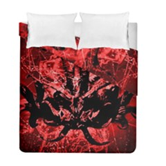 Scary Background Duvet Cover Double Side (full/ Double Size) by dflcprints