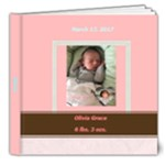 Olivia Book - 8x8 Deluxe Photo Book (20 pages)