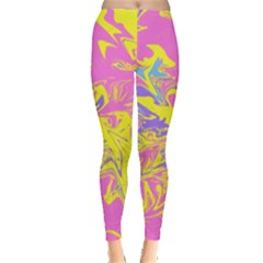 Colors Leggings  by Valentinaart