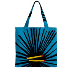Match Cover Matches Grocery Tote Bag by Mariart