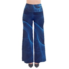 Smoke White Blue Pants by Mariart