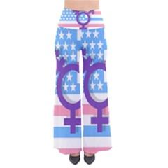 Transgender Flag Pants by Valentinaart