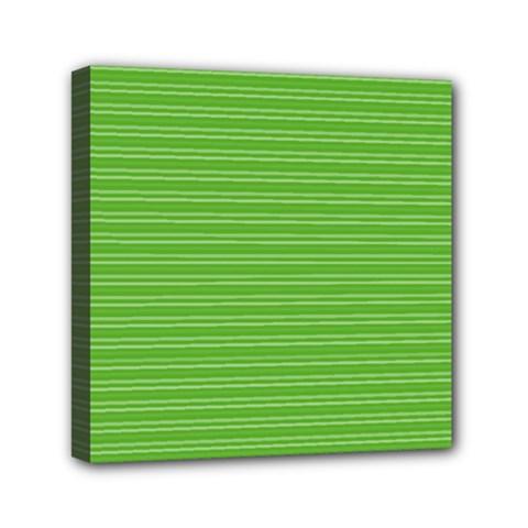 Lines Pattern Mini Canvas 6  X 6  by Valentinaart