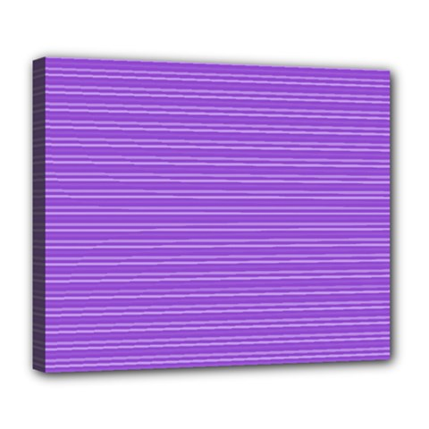 Lines Pattern Deluxe Canvas 24  X 20   by Valentinaart