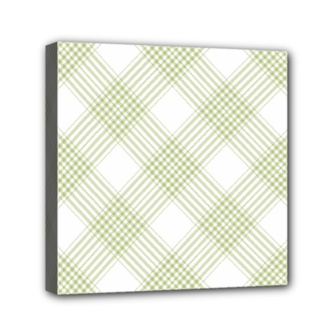 Zigzag  Pattern Mini Canvas 6  X 6  by Valentinaart