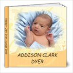 Addison Clark - 8x8 Photo Book (30 pages)