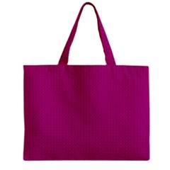 Color Zipper Mini Tote Bag by Valentinaart