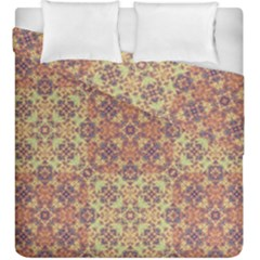 Vintage Ornate Baroque Duvet Cover Double Side (king Size) by dflcprints