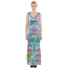 Drake 1 800 Hotline Bling Maxi Thigh Split Dress by Onesevenart