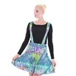 Drake 1 800 Hotline Bling Suspender Skater Skirt