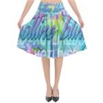 Drake 1 800 Hotline Bling Flared Midi Skirt