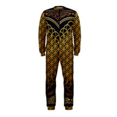 Bring Me The Horizon Cover Album Gold Onepiece Jumpsuit (kids) by Onesevenart