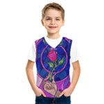 Enchanted Rose Stained Glass Kids  SportsWear