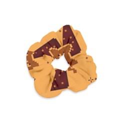 Nyan Cat Vintage Velvet Scrunchie by Onesevenart