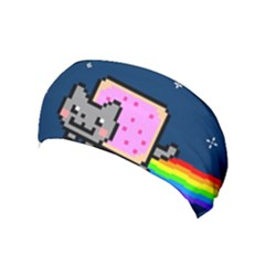 Nyan Cat Yoga Headband by Onesevenart