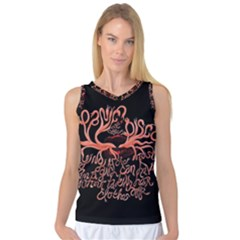 Panic At The Disco   Lying Is The Most Fun A Girl Have Without Taking Her Clothes Women s Basketball Tank Top by Onesevenart