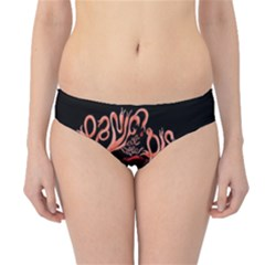 Panic At The Disco   Lying Is The Most Fun A Girl Have Without Taking Her Clothes Hipster Bikini Bottoms by Onesevenart