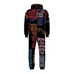 Panic At The Disco Northern Downpour Lyrics Metrolyrics Hooded Jumpsuit (kids) by Onesevenart