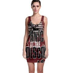 Panic At The Disco Poster Sleeveless Bodycon Dress by Onesevenart