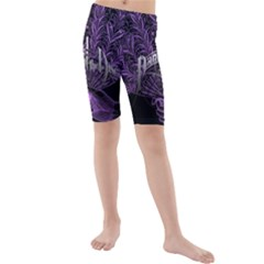 Panic At The Disco Kids  Mid Length Swim Shorts by Onesevenart
