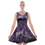 Panic At The Disco Velvet Skater Dress