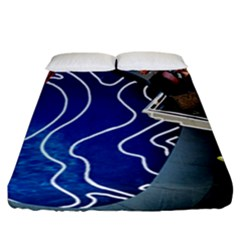 Panic! At The Disco Released Death Of A Bachelor Fitted Sheet (california King Size) by Onesevenart