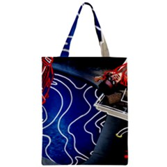 Panic! At The Disco Released Death Of A Bachelor Zipper Classic Tote Bag by Onesevenart