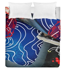 Panic! At The Disco Released Death Of A Bachelor Duvet Cover Double Side (queen Size) by Onesevenart