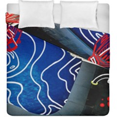 Panic! At The Disco Released Death Of A Bachelor Duvet Cover Double Side (king Size) by Onesevenart