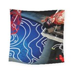 Panic! At The Disco Released Death Of A Bachelor Square Tapestry (Small)