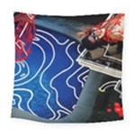 Panic! At The Disco Released Death Of A Bachelor Square Tapestry (Large)