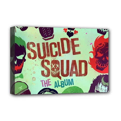 Panic! At The Disco Suicide Squad The Album Deluxe Canvas 18  X 12   by Onesevenart