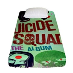 Panic! At The Disco Suicide Squad The Album Fitted Sheet (single Size) by Onesevenart